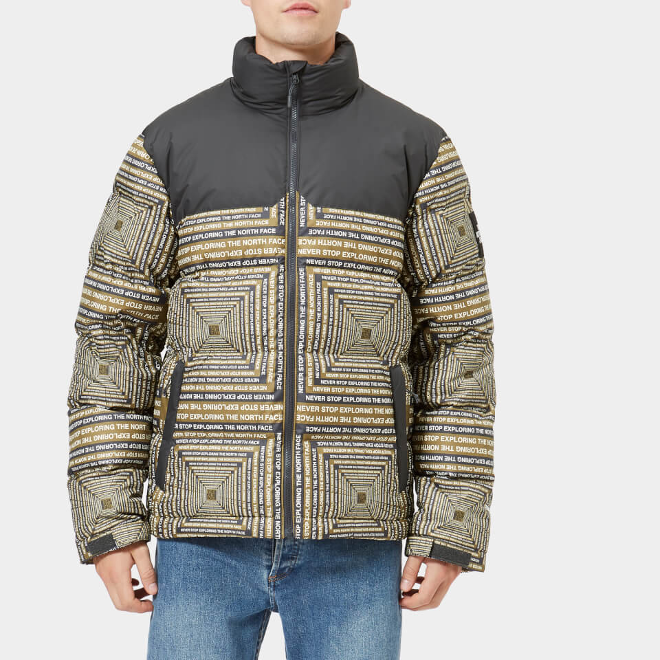 8f681a19eb The North Face Men s 1992 Nuptse Jacket - Fir Green Lcd Capsule Print -  Free UK Delivery over £50