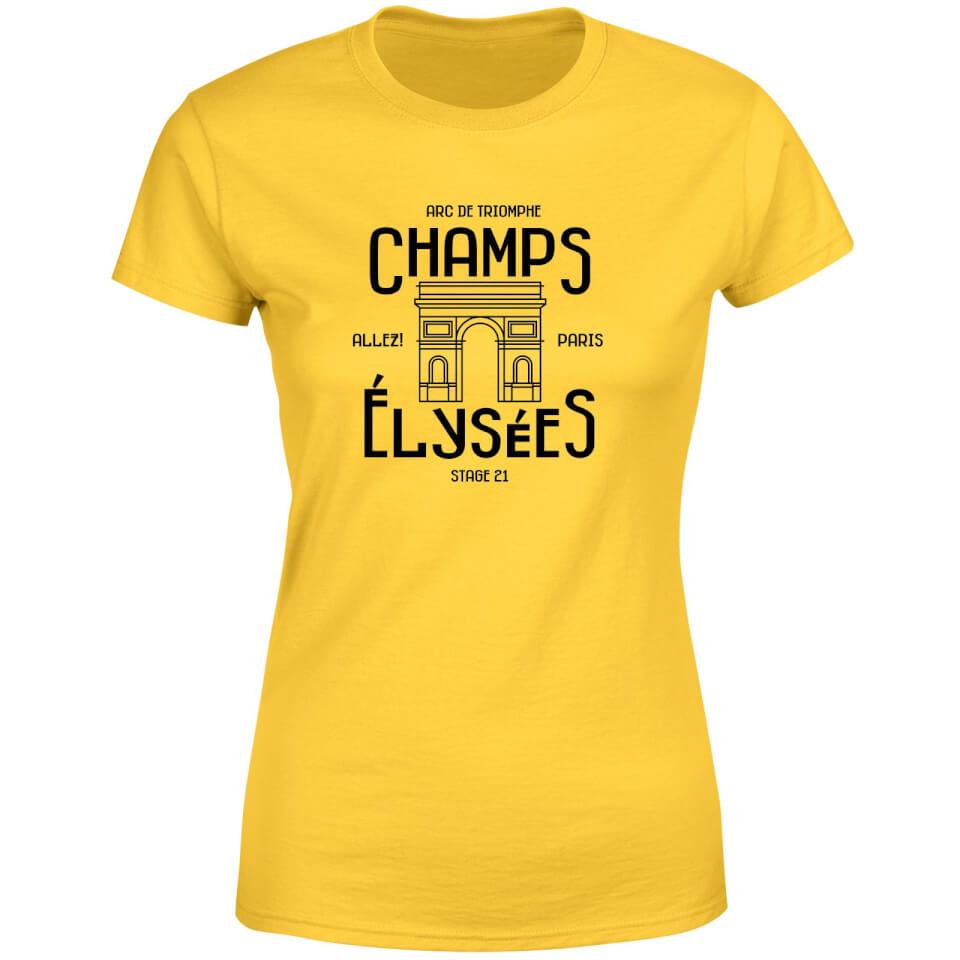 Champs Elysees Winner Women's T-Shirt - Yellow | Jerseys