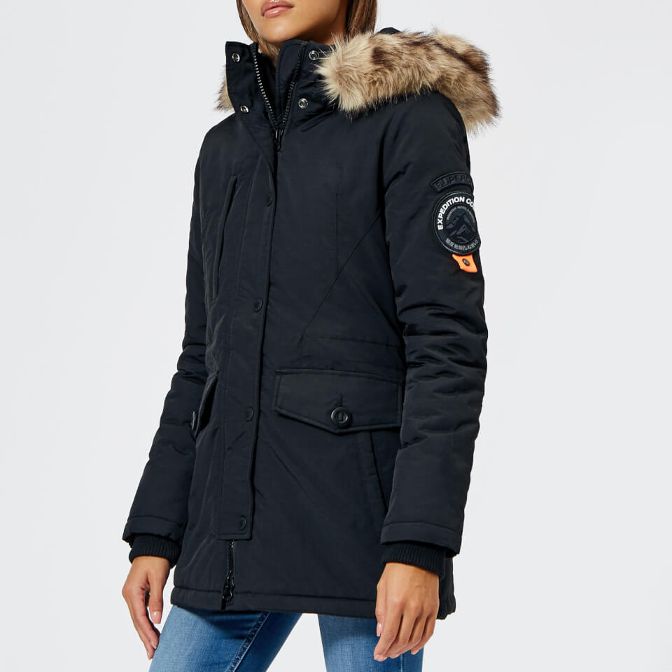 Superdry Women's Ashley Everest Coat Black