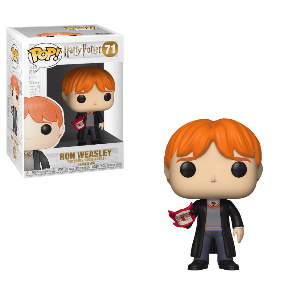 Figurine Pop Ron Avec Beuglante Harry Potter Pop In A