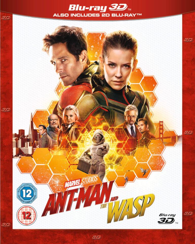 antman and the wasp 3d bluray zavvi