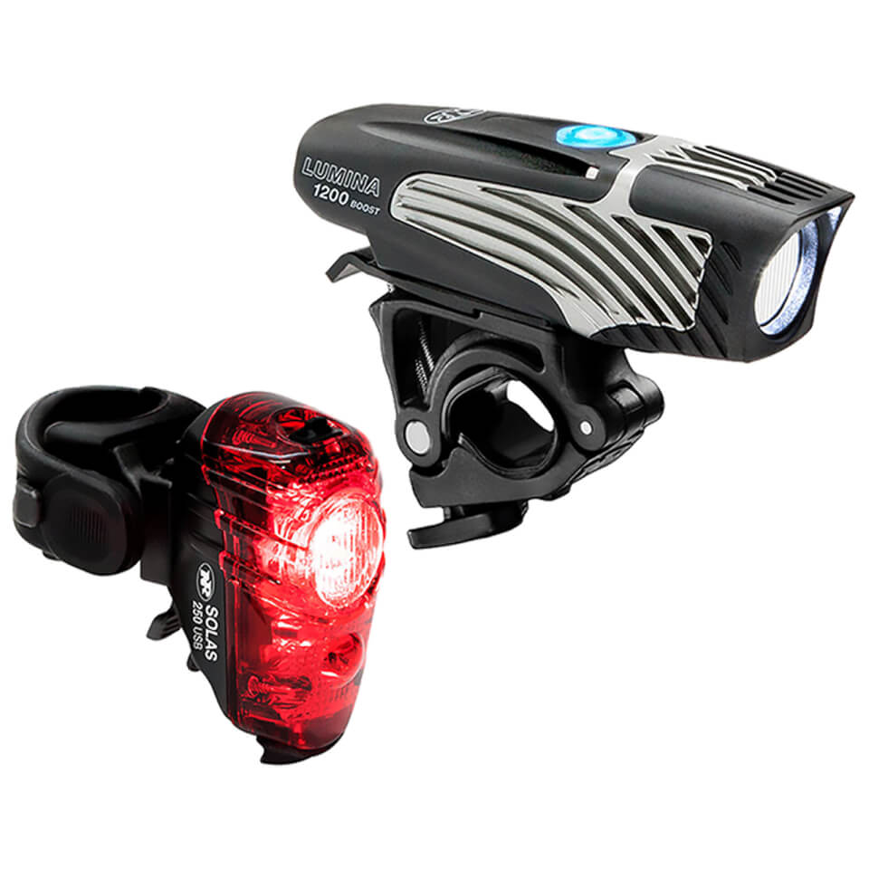 Niterider Lumina 1200 Boost/Solas 250 Combo Light Set | Lygtesæt