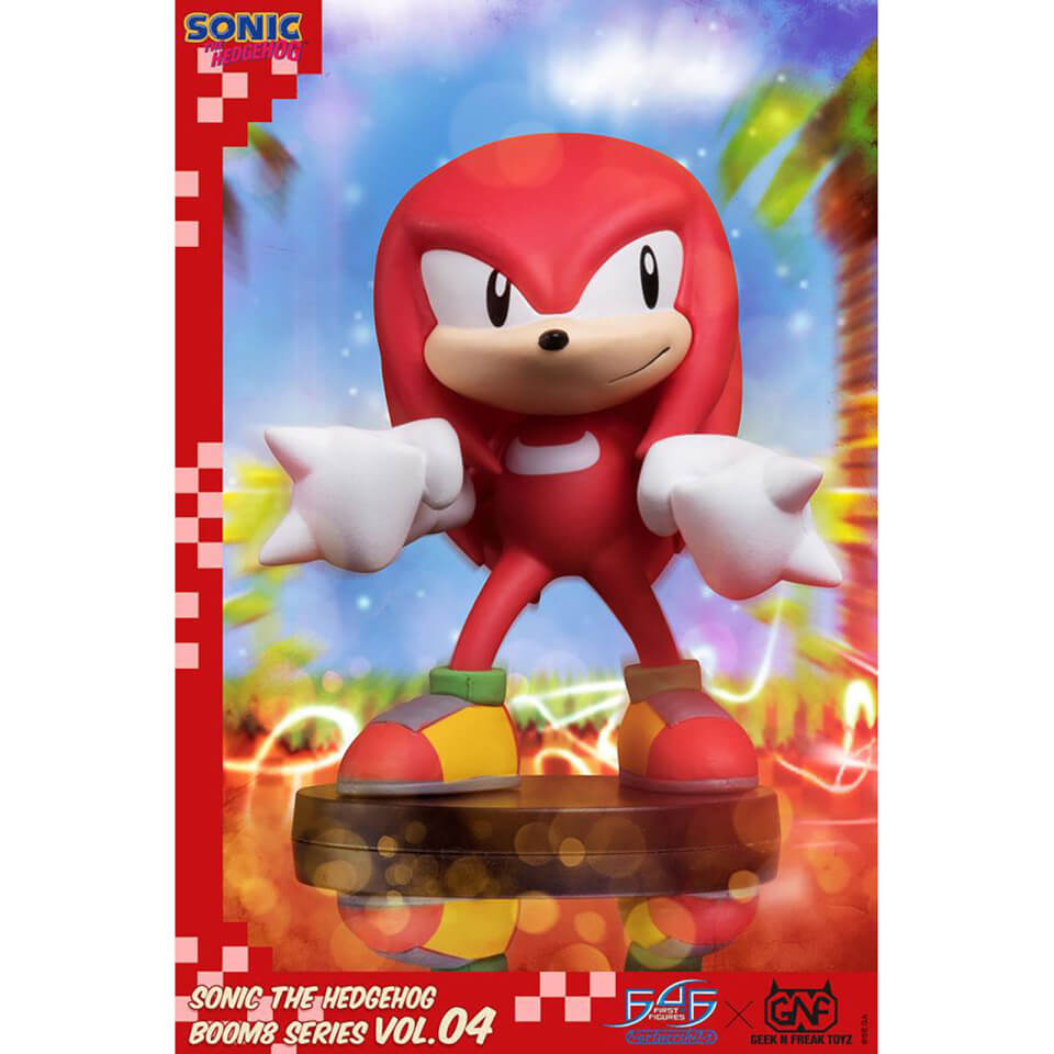 First 4 Figures Sonic The Hedgehog Boom8 Series Pvc Figure Vol 04 Knuckles 8cm Merchandise Zavvi Us