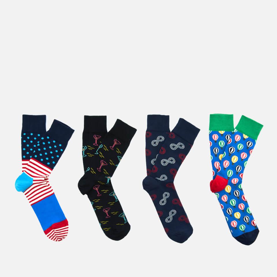 0e96f42a4d2a Happy Socks Men s 7 Day Gift Box - Multi - UK 7.5-11.5 Mens Clothing ...