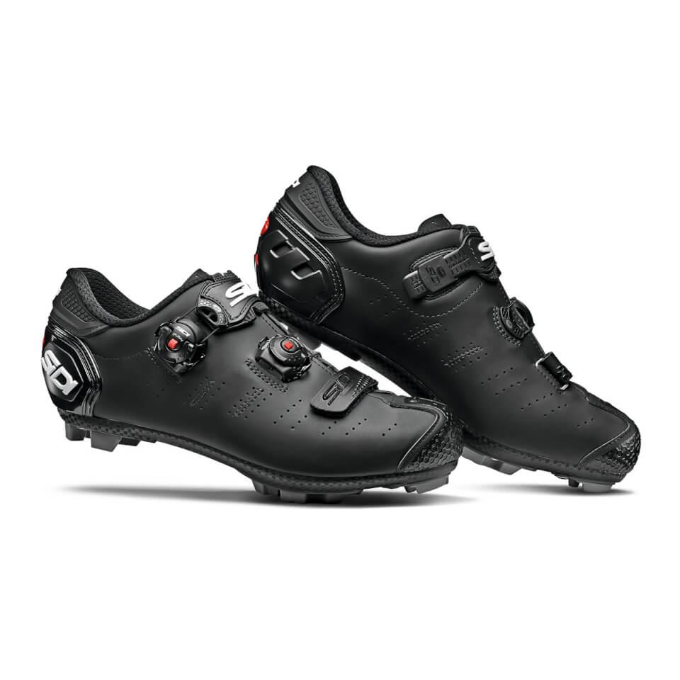 Sidi Dragon 5 SRS Matt Mega MTB Shoes - Matt Black | Sko