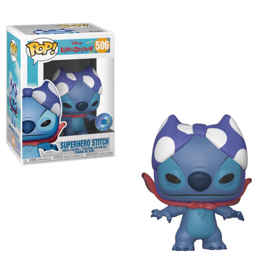Piab Exc Superhero Stitch Disney Pop Vinyl Figure Pop