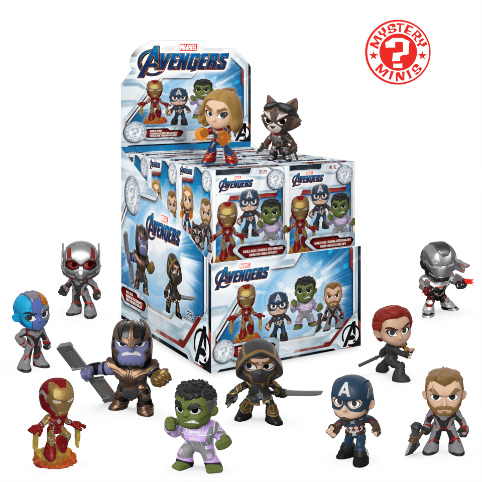 Marvel Avengers Endgame Mystery Minis Pop In A Box Us