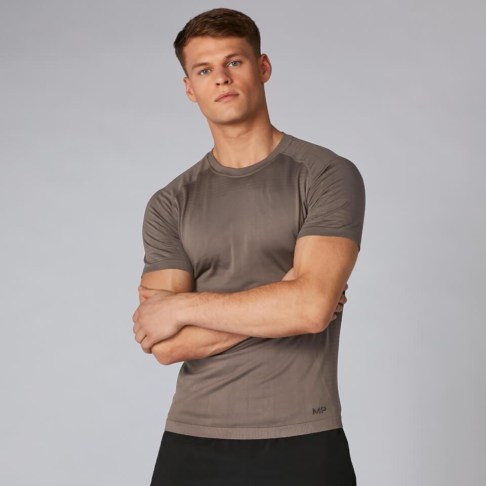 Myprotein Elite Seamless T-Shirt - Driftwood | Jerseys