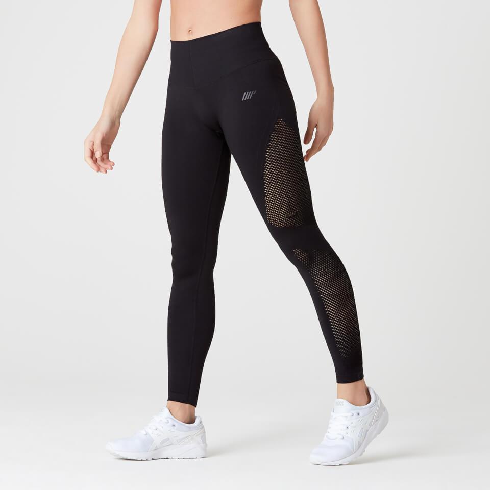 e007fa927b077 Buy Women's Shape Seamless Gym Leggings | Black | MYPROTEIN™