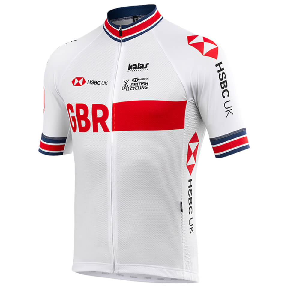 Kalas GBR Replica Jersey - White   Jerseys