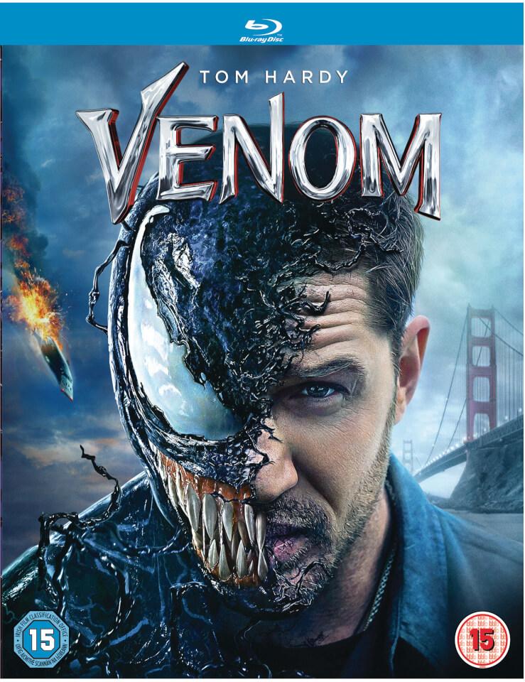 Venom Blu Ray Zavvi