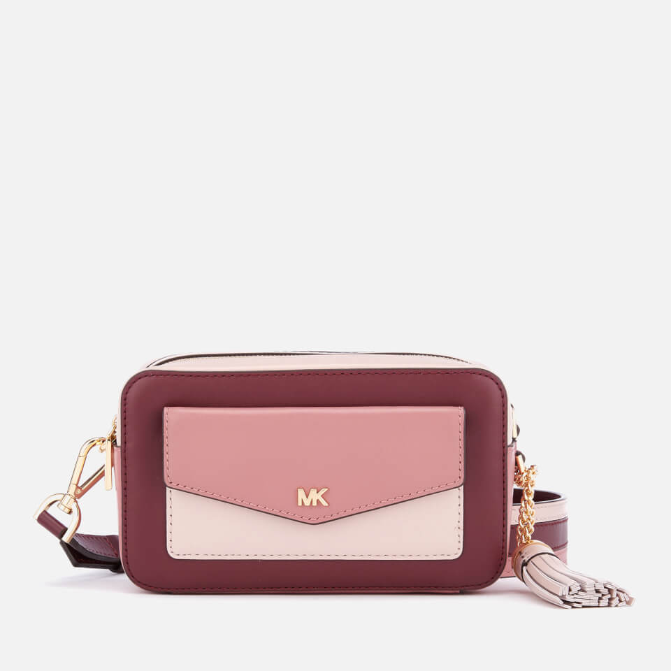 284afe7d03ae MICHAEL MICHAEL KORS Women s Pocket Camera Bag - Rose Multi