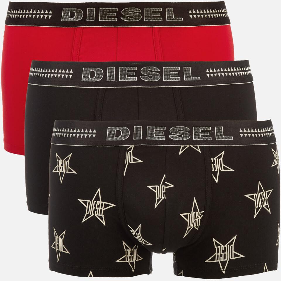 0bd96548a Diesel Men's Damien Three Pack Boxer Shorts - Multi