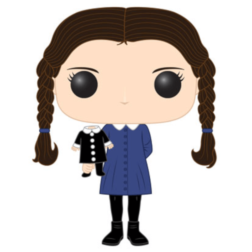 The Addams Family Wednesday Pop Vinyl Figure Pop In A