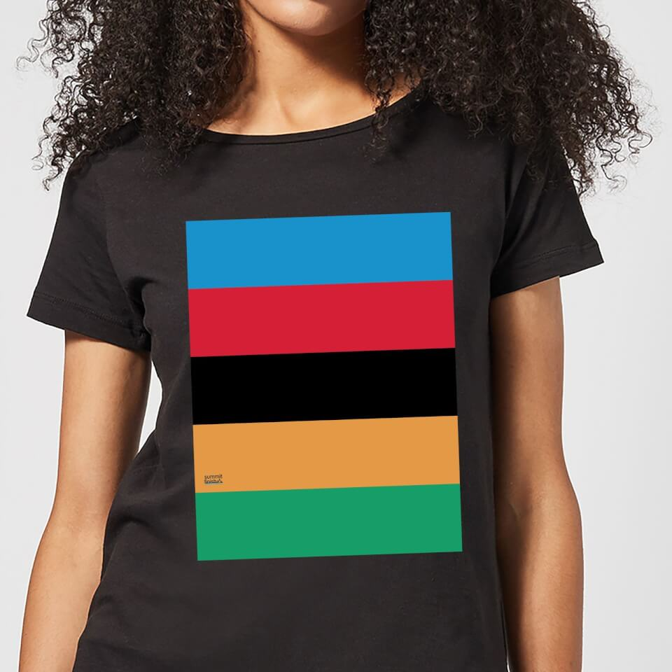 Summit Finish World Champion Stripes Women's T-Shirt - Black | Jerseys