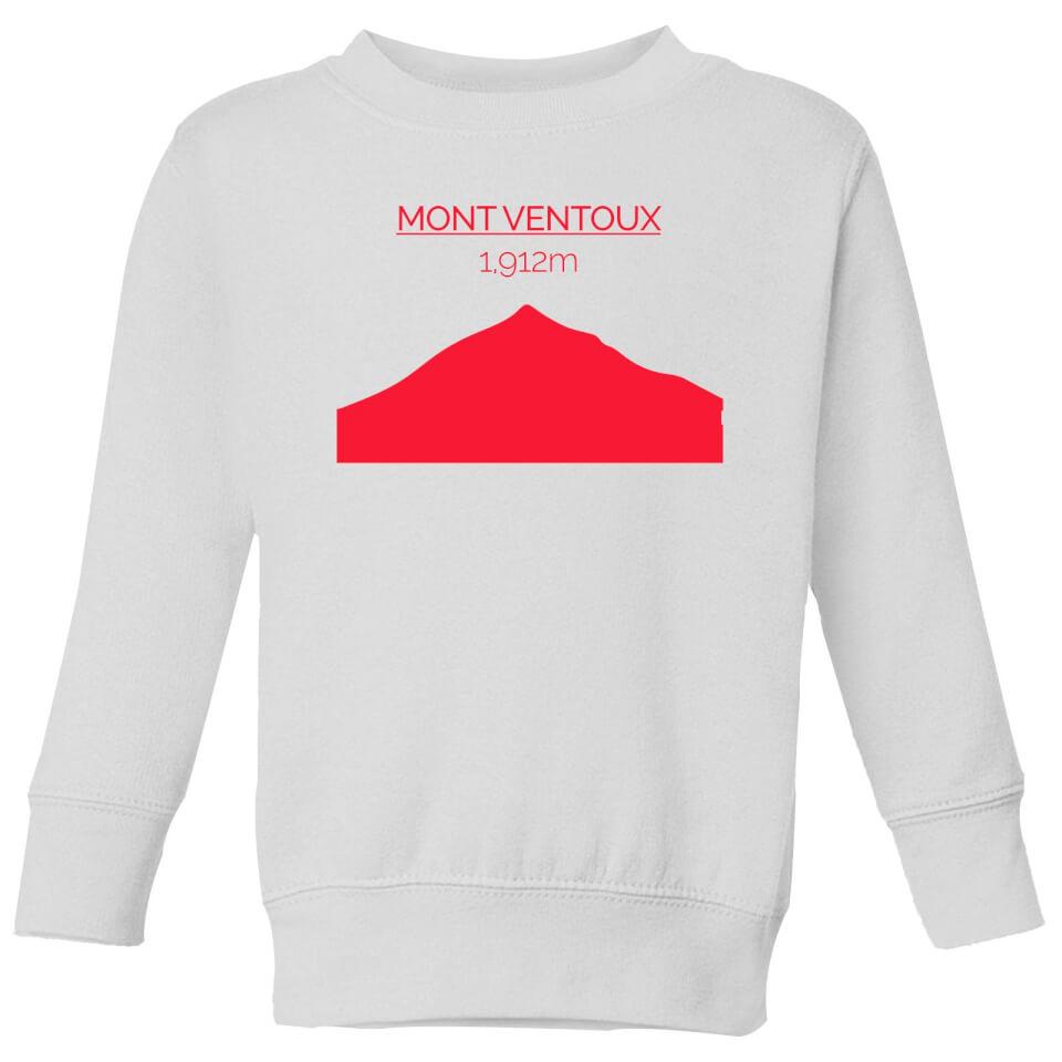 Summit Finish Mont Ventoux Kids' Sweatshirt - White | Trøjer