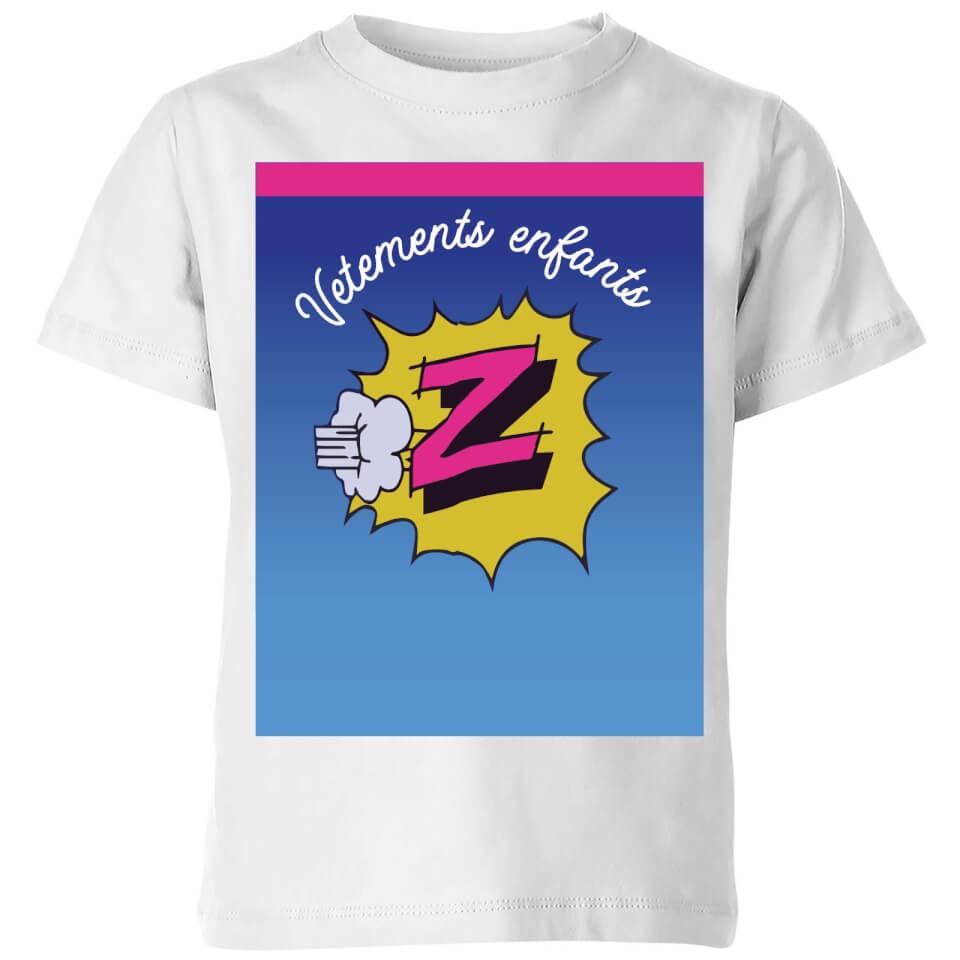 Summit Finish Z Vetements Kids' T-Shirt - White | Jerseys