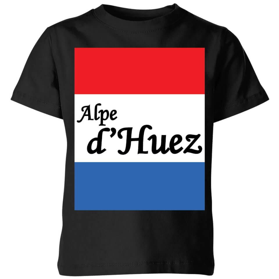 Summit Finish Alpe D'Huez Kids' T-Shirt - Black | Jerseys