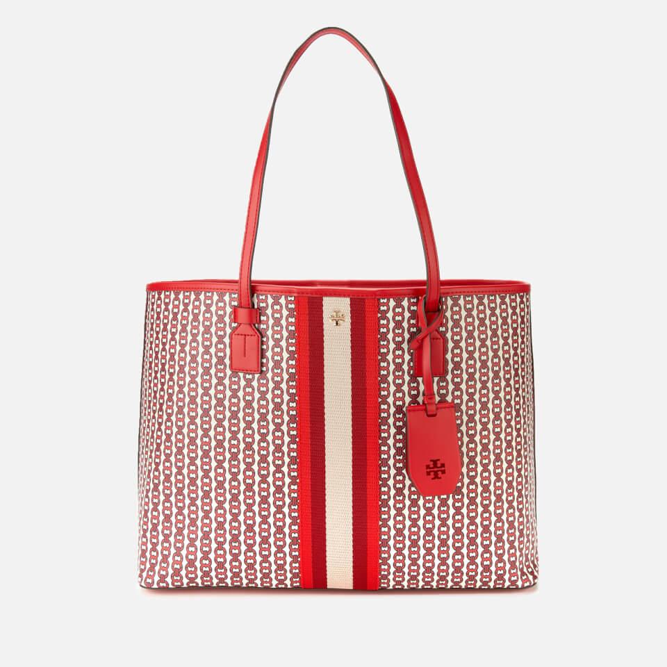 5661c69f36e Tory Burch Women s Gemini Link Canvas Tote Bag - Liberty Red