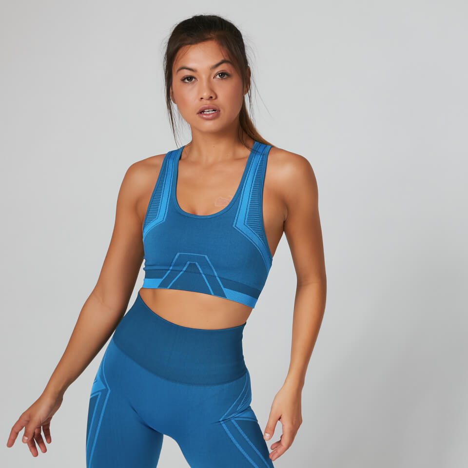 Impact Seamless Sports Bra - Navy