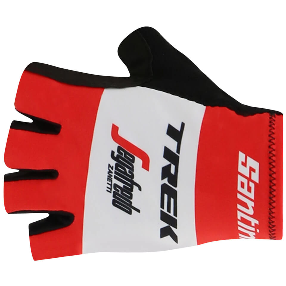 Santini Trek-Segafredo 2019 Race Gloves | Handsker