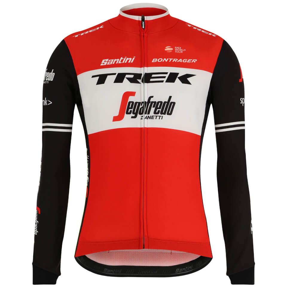 Santini Trek-Segafredo 2019 Classe Long Sleeve Jersey | Trøjer