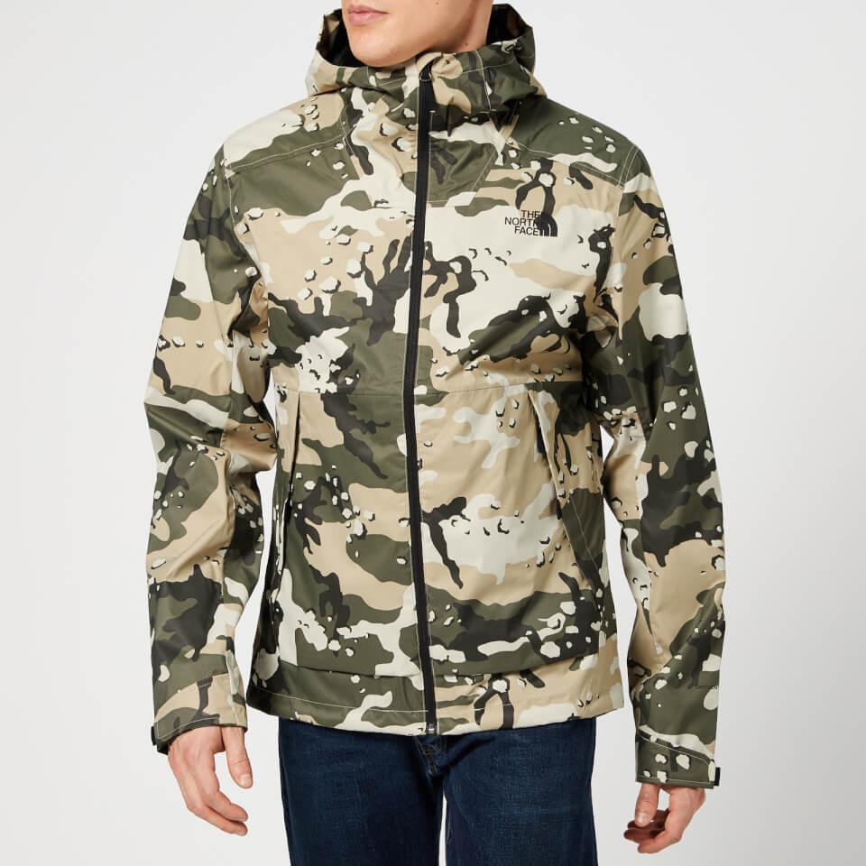 Woodchip Millerton North Peyote Print Men's Camo The Jacket Face Beige mvn0wON8