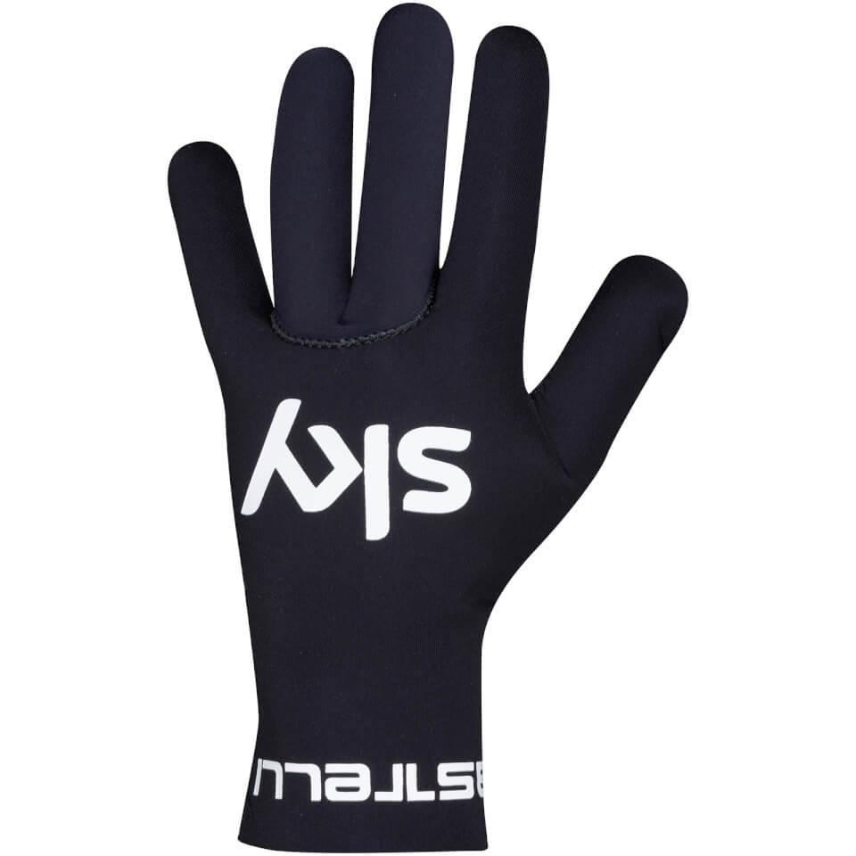 Team Sky Diluvio Gloves - Black | Gloves