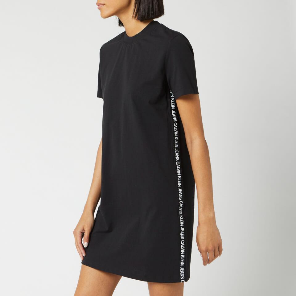 Calvin Klein Sweatshirt Dress, CK Black