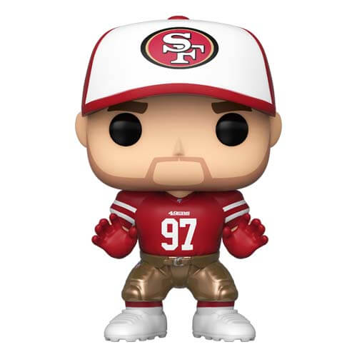 reputable site bc95f 0c544 NFL 49ers Nick Bosa Home Jersey Pop! Vinyl Figure