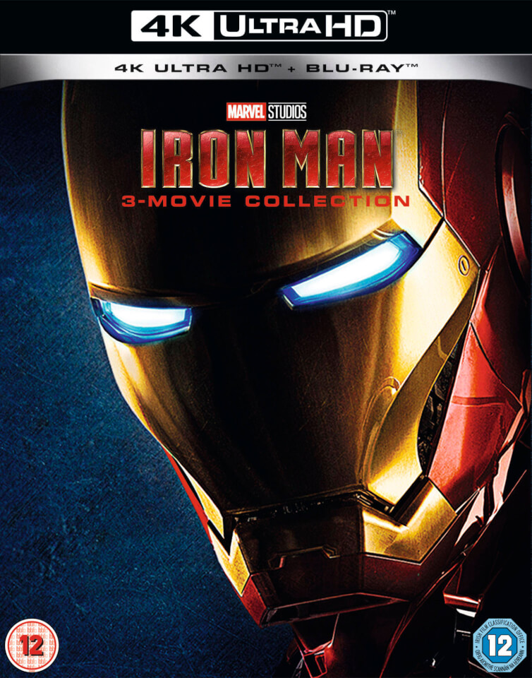 Iron Man Trilogy 4k Ultra Hd Blu Ray Zavvi Uk