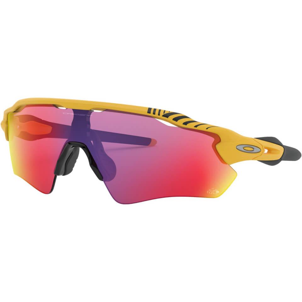 Oakley Radar EV Tour De France 2019 Sunglasses - Yellow/Prizm Road | Briller
