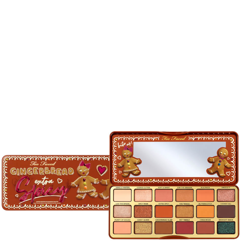 Too Faced Extra Spicy Eye Palette Gingerbread 12.6g