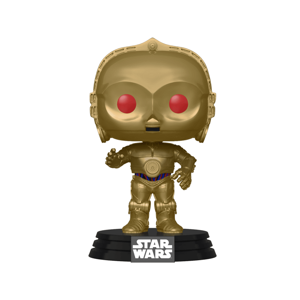 Star Wars Rise Of The Skywalker C 3po Red Eyes Pop