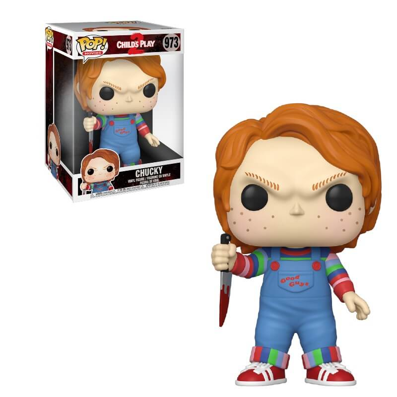 A Child S Play Chucky 10 Inch Funko Pop Vinyl Pop In A Box Us