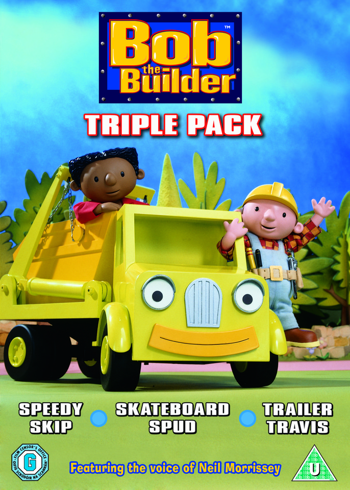 Bob The Builder Triple Dvd Zavvi