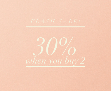 30% off when you buy 2