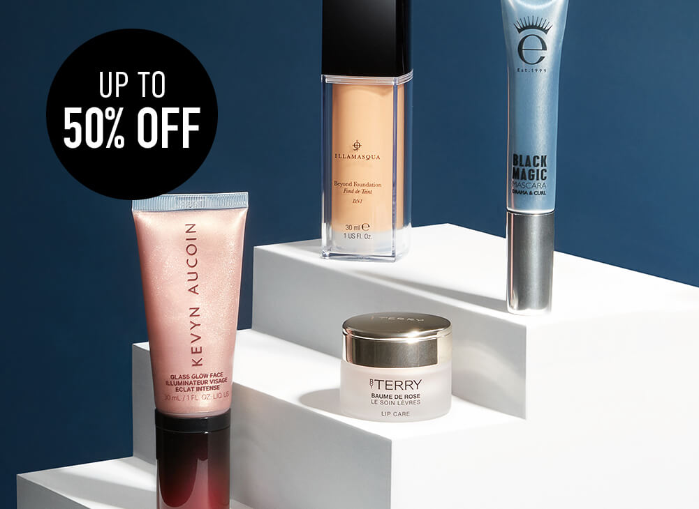 black friday cosmetics, up to 50%