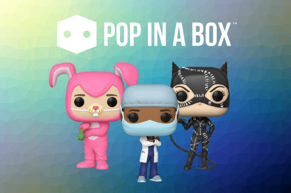 Ranging from every genre and franchise, plus a chance to get rare, exclusive and oversized Pops!