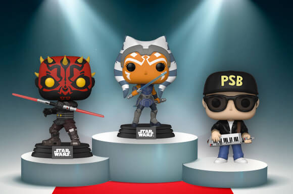 This week is full of new Pop!s!<br> Dominating this week is Star Wars: Clone Wars! <br>Where did your fave Pop! finish?