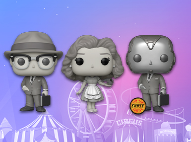 JUST LANDED:  WANDAVISION Pops!