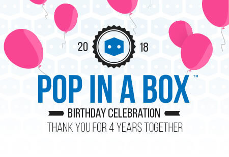 Pop In A Box's 4th Birthday!