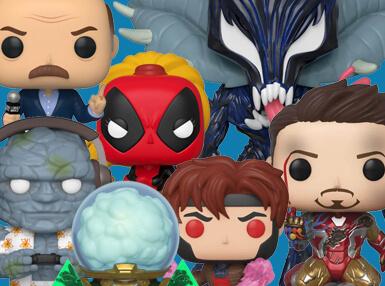 Möchtest du die Avengers oder die X-Men beizutreten? Wir haben das perfekten Abo für dich! Jeden Monat nur Funko Pops aus der Marvel-Welt!
