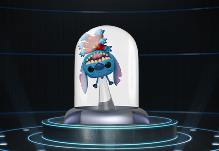 Everyone's favourite cute and fluffy blue alien is here, Experiment 626, or better known as, Stitch!