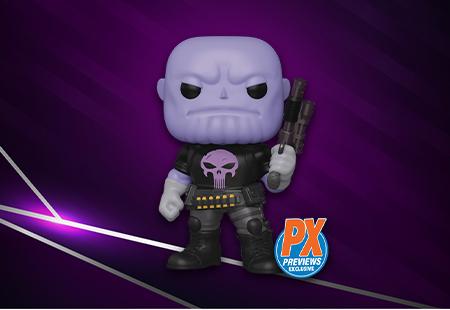 JUST ADDED: PX Previews Punisher Thanos!!💀