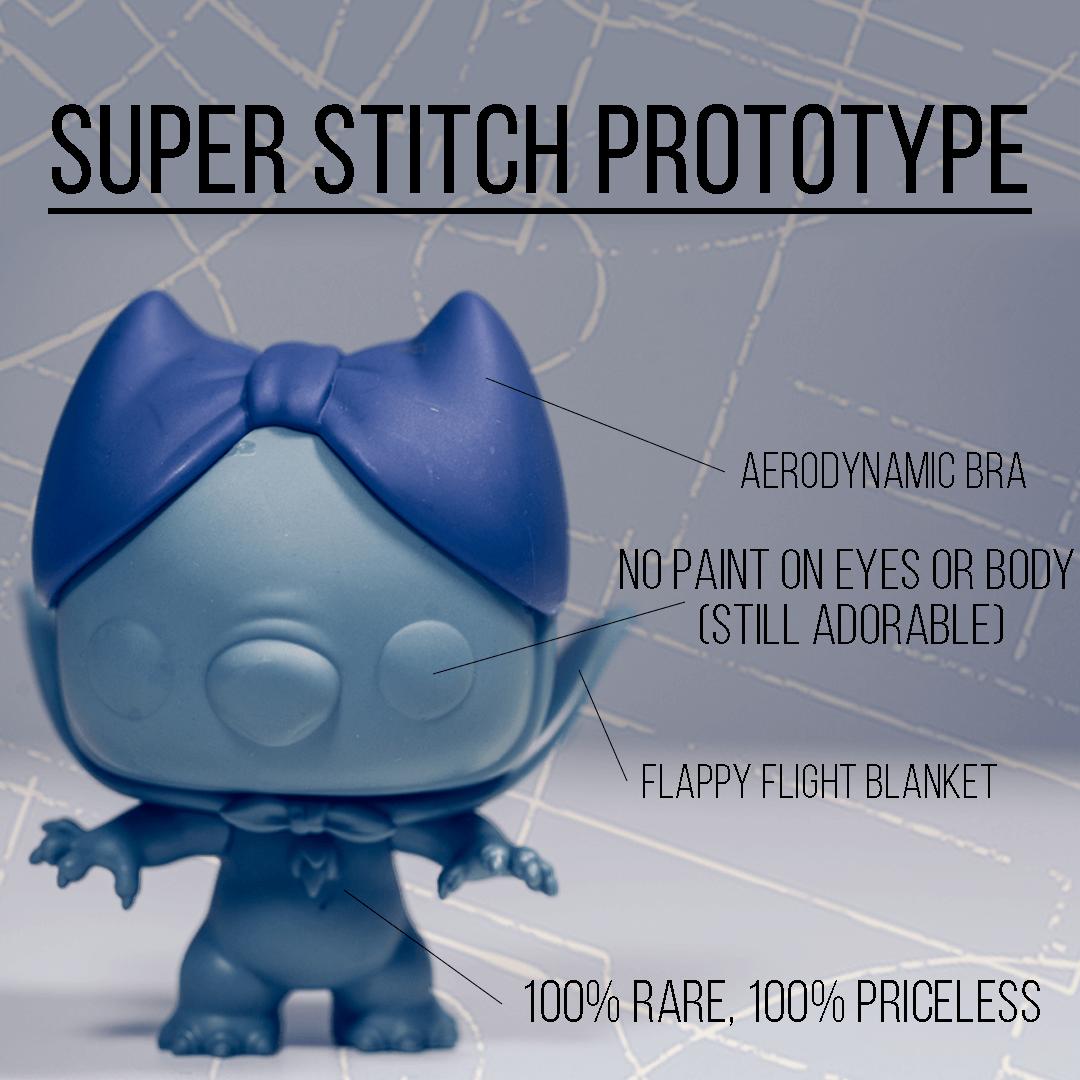 SuperHero Stitch Prototype