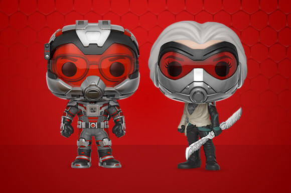 ANT-MAN & THE WASP POP! VINYL!