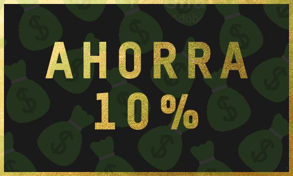 ¡10% DE DESCUENTO EN TODA LA TIENDA!