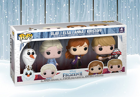 BRAND NEW: FROZEN 2 4-PACK