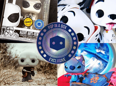 Find the latest Pop In A Box Funko Pop! Exclusives and limited edition Pop! figures right here! We've got plenty for you to choose from!